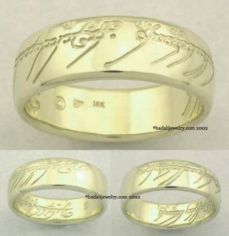 10k. Gold The One Ring