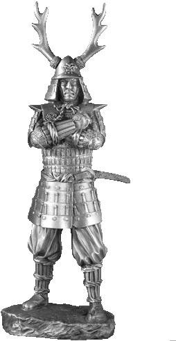 17th Century Samurai - Les Etains Du Graal