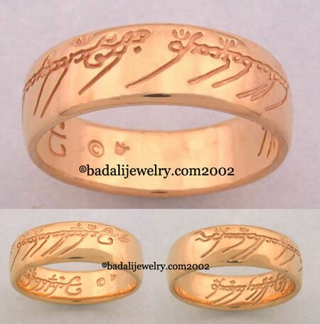 22k. Yellow Gold The One Ring