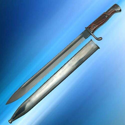 98 Butcher Blade Bayonet w/ Scabbard & Frog