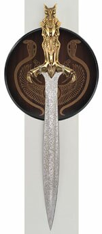 Bast - Egyptian Short Sword - 24-K Gold Special Edition