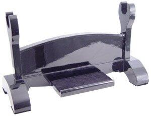Black Laquered Single Katana Stand