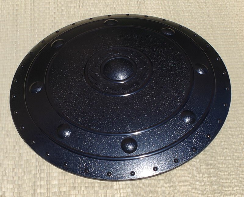 Black Plastic Shield