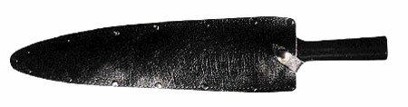 Cold Steel Assegai Sheath Black Leather