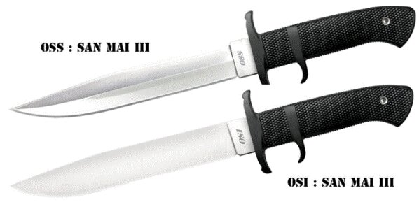 Cold Steel Knife OSS in San Mai III