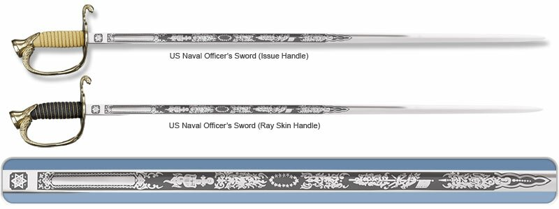 Cold Steel US Naval Officer's Sword (Issue Handle)