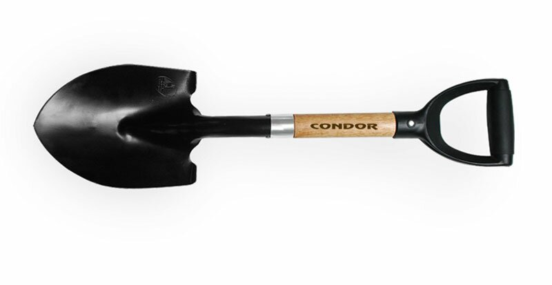 Condor 4x4 Round Shovel