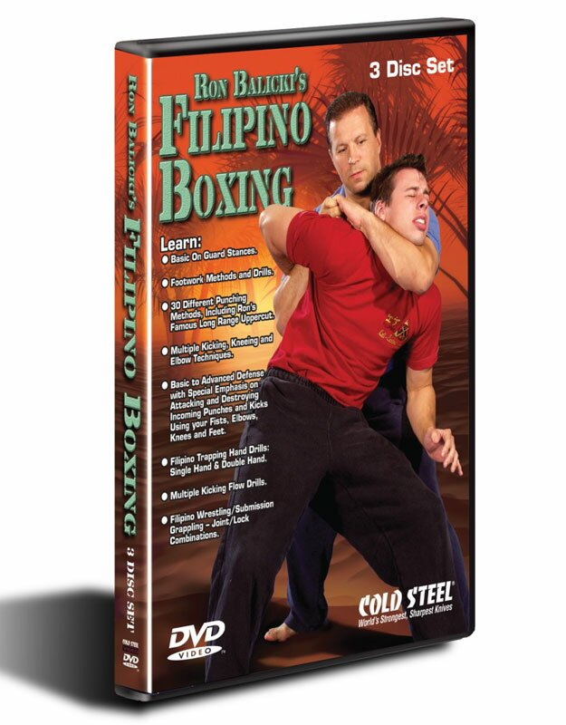 DVD Cold Steel Ron Balicki's Filipino Boxing