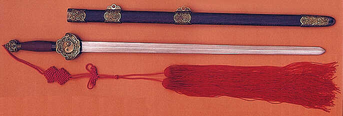 Damascus Tai Chi Sword