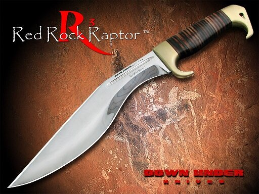 Down Under Knives RED ROCK RAPTOR