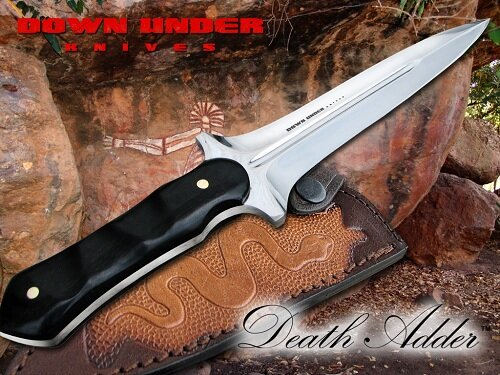 Down Under Knives THE DEATH ADDER
