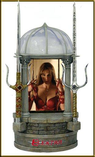 Elektra Sai of Elektra Wishing Well Display