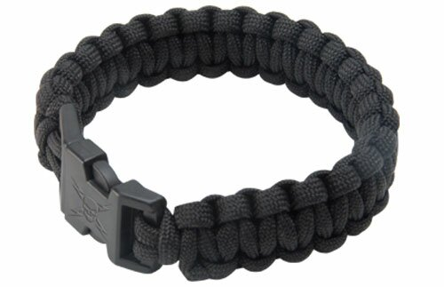 Elite Forces Black Survival Bracelet
