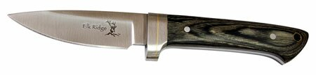 Elk Ridge Hunting Knife Pakka Wood