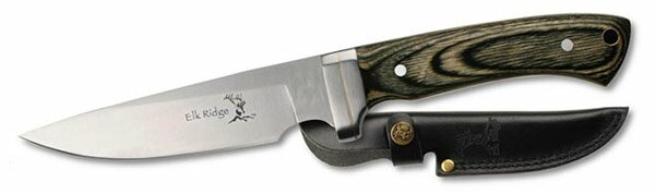 Elk Ridge Pakka Wood Hunting Knife