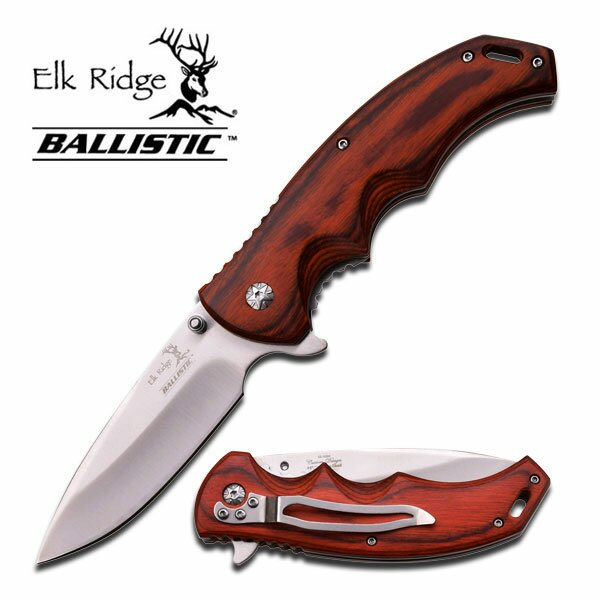 Elk Ridge Spring Assisted Knife