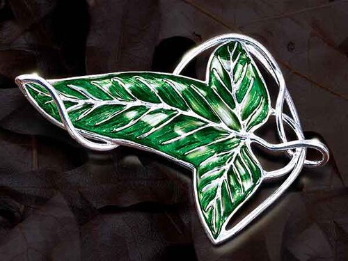 Elven Brooch Sterling Silver - The Lord of the Rings