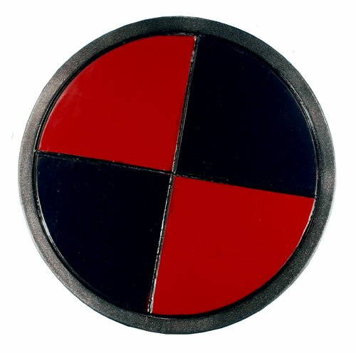 Epic Armoury RFB Shield - Red - Black