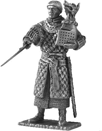 Figure Bors de Granis - Knights of the Round Table - Les Etains Du Graal
