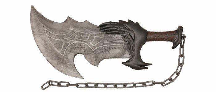 God of War Kratos Blade of Chaos Foam Sword