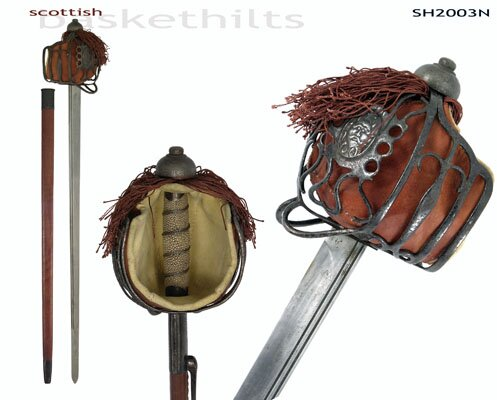 Hanwei Basket-Hilt Backsword (Antiqued)