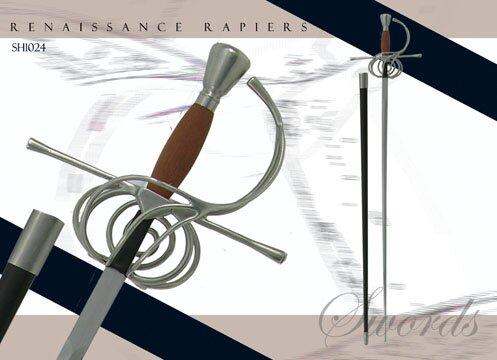 Hanwei Renaissance Style Swept Hilt Rapier