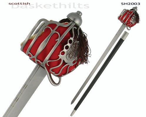Hanwei Scottish Basket Hilt Backsword