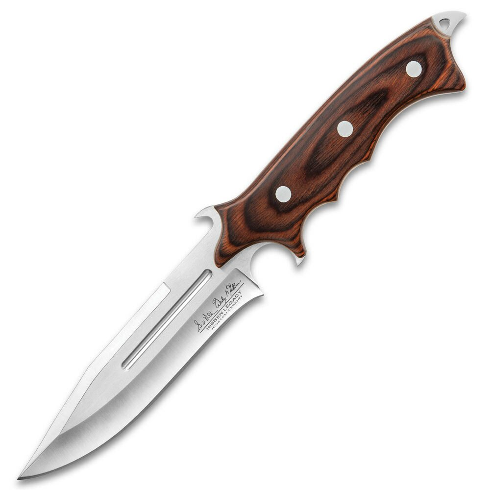 Hibben Legacy Combat Fighter Knife II With Sheath