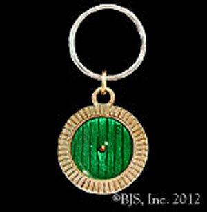Hobbit Bronze Bag End Door Key Chain