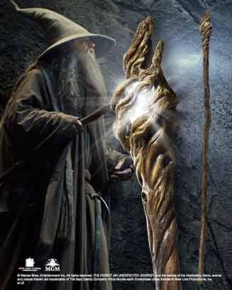 Hobbit Gandalf Illuminating Staff