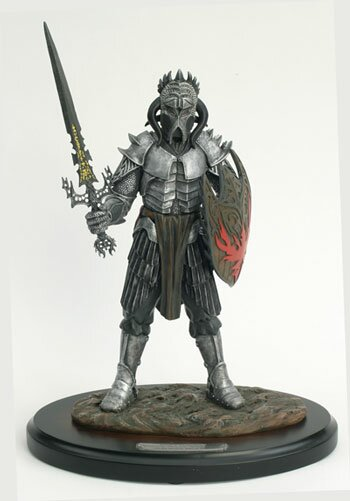 Kit Rae Limited Edition Vardor Wields Valermos Statue