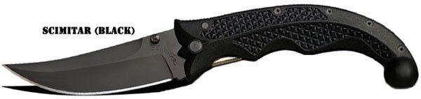 Knife Cold Steel Scimitar (black)