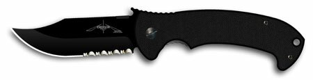 Knife Emerson ECBF CQC-13 Black Serrated