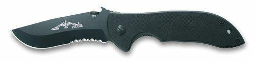 Knife Emerson Mini Commander Black Serrated