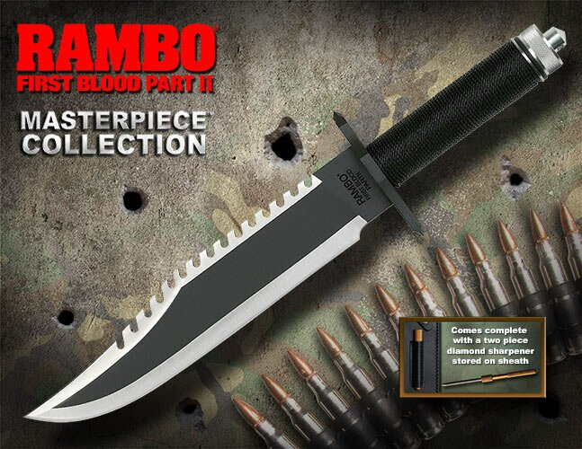 Knife Rambo II Standard Edition Hollywood Collectibles Group