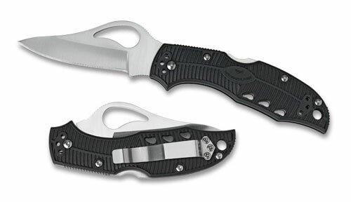 Knife Spyderco/Byrd Meadowlark  FRN Serrated