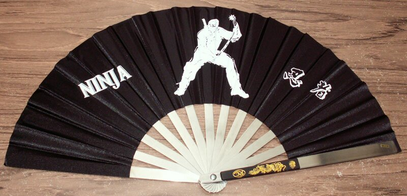 Kung Fu Fan - Ninja Design