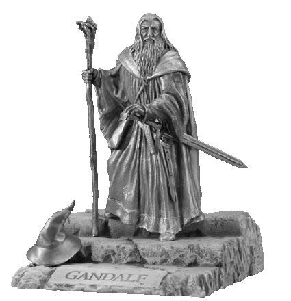 LOTR Gandalf Figure - Les Etains Du Graal