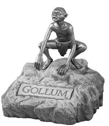 LOTR Gollum Figure - Les Etains Du Graal