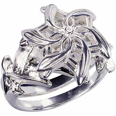 Lord of the Rings: Galadriel's Ring - Silver