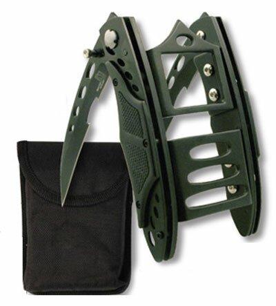 Master Cutlery Cyber Claw Black