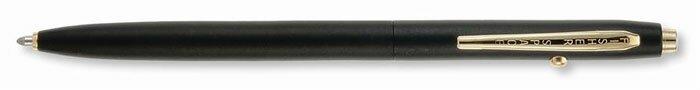 Matte Black Shuttle Pen wit Gold Trim