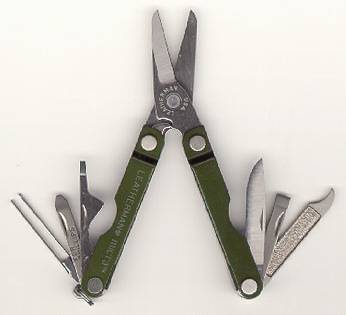 Multitool Leatherman Micra Tool Green