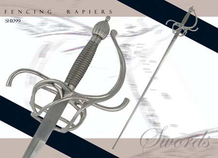 Practical Rapier - 43 inch blade