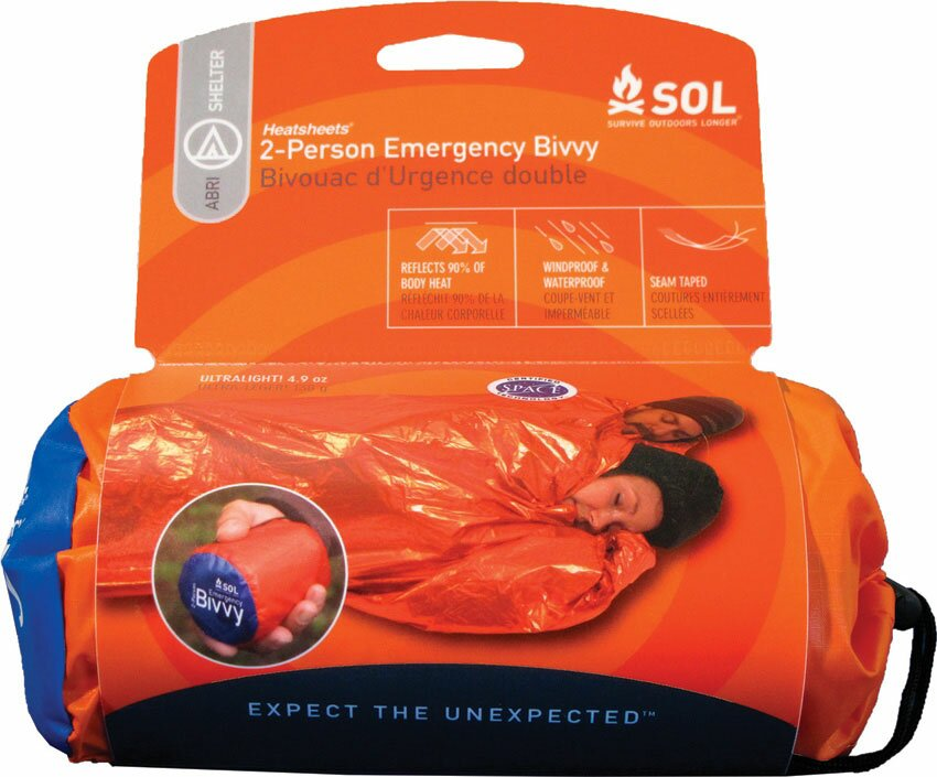 SOL 2-Person Emergency Bivvy Shelter