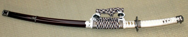 Samurai Tachi Brown - display sword