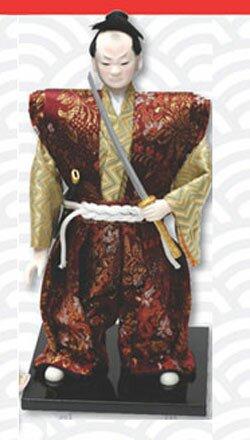 Samurai Warrior doll with katana
