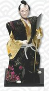 Samurai Warrior doll with naginata (PL-604)