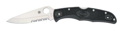 Spyderco Endura 4 FRN Combination Edge(partially serrated) Folding Knife