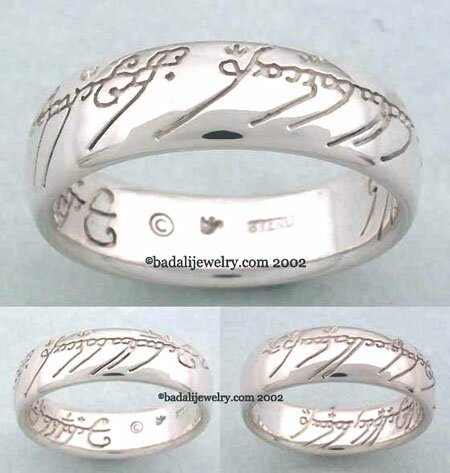 Sterling Silver The One Ring